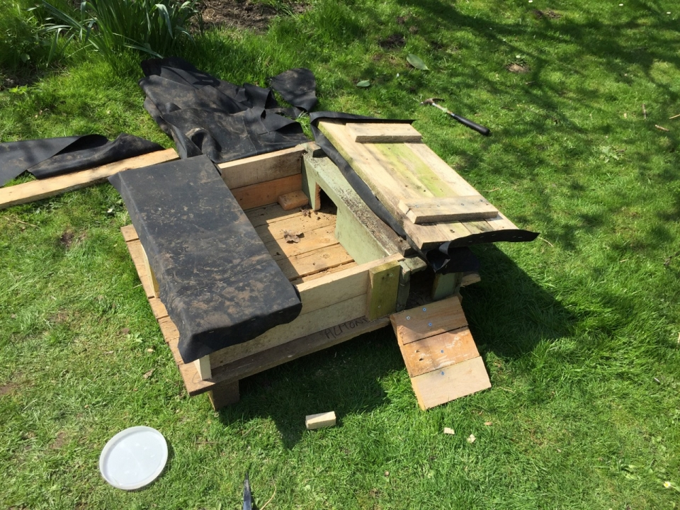 Building a Hedgehog House
