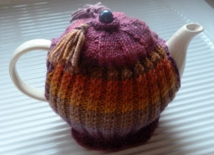 A little Cosy for a 3 cup pot.